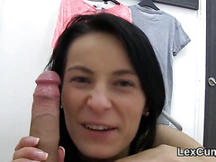 Beautiful czech idol lexi dona pleasures and gets off