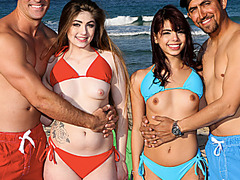 Gina Valentina And Kobi Brian Switches Pops And Goes To Town