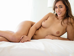 Beautiful Anastasia Black gets hammered by boyfriend in the tub